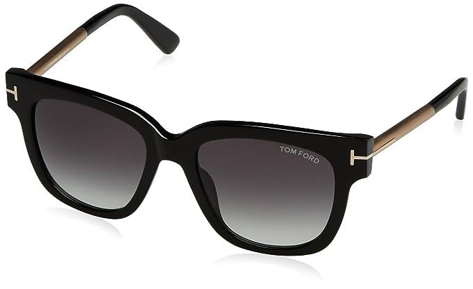 Tom Ford Sonnenbrille FT0436_01B (53 mm) Black, 53