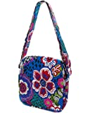 Belvah Quilted Floral Paisley Messenger Crossbody Bag