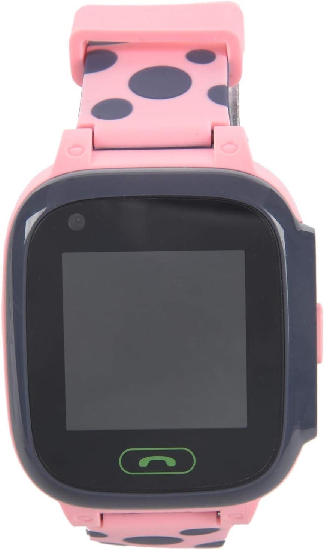 Cobeky Y95 4G Reloj Inteligente para Ni?Os TeléFono GPS Reloj Inteligente para Ni?Os Prueba de Agua WiFi Antil Perdida Rastreador de UbicacióN SIM Reloj Inteligente HD Video Llamada Rosa