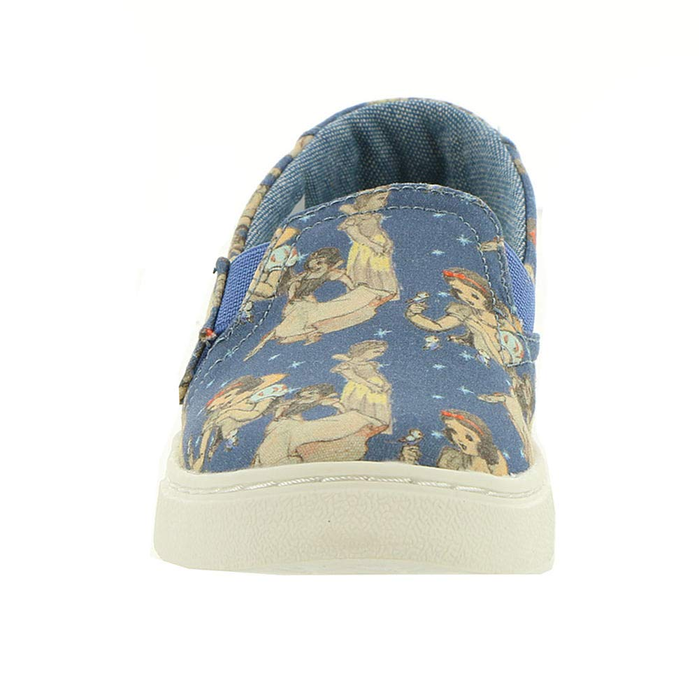 TOMS Girl's, Luca Slip on Shoes Blue 9 M by TOMS Kids (Image #5)