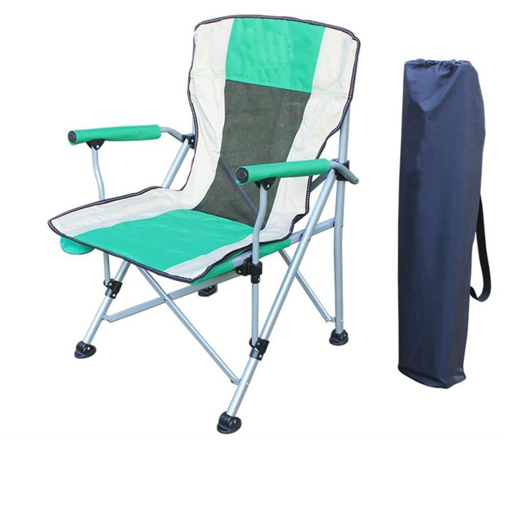 QFFL 折りたたみ椅子屋外手すりアルミ釣りスツールポータブル多機能釣り椅子6色オプション アウトドアスツール (色 : B) B07F1B4MB9 B B