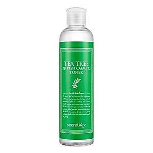 [SECRET KEY] Tea Tree Refresh Calming Toner 248ml - Reducing Sebum Production, Containing 15 Kinds of Botanical Extract