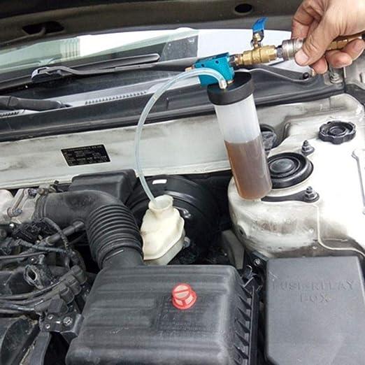 Auto Car Brake Fluid Oil Change Replacement Tool Hydraulic Clutch Oil Pump Oil Bleeder Empty Exchange Drained Kit DAVITU US Warehouse Engine Care