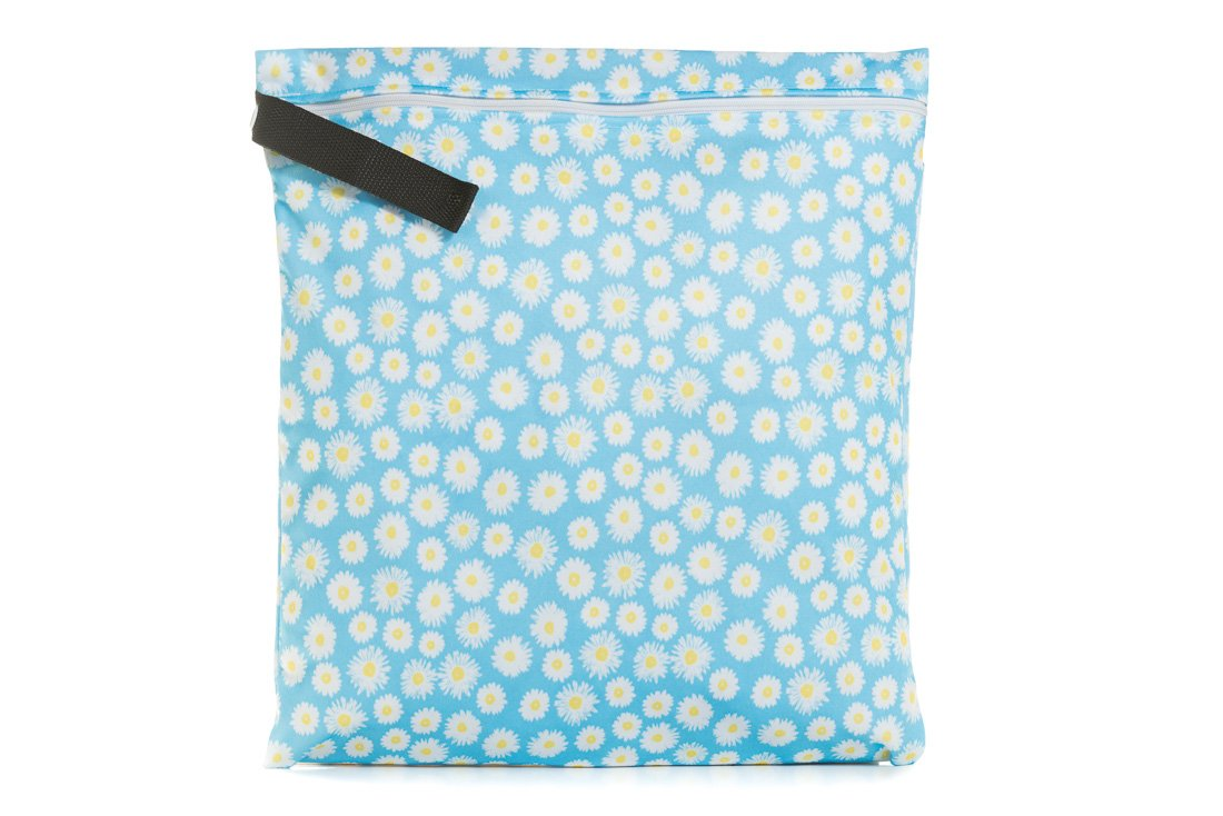 Buttons Diapers Wet Bag (Large, Picnic)