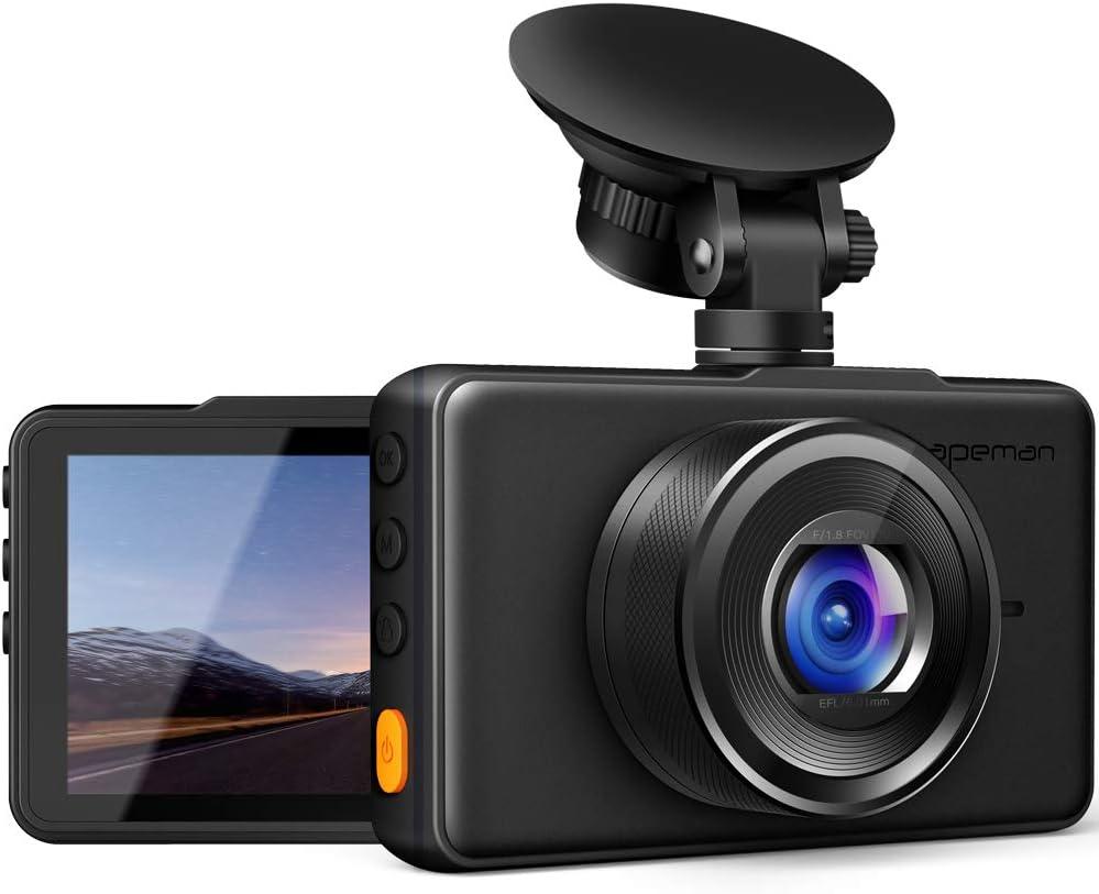 Apeman Dashboard Camera For Semi Trucks And Cars