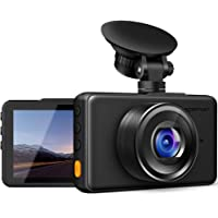 $39 Get APEMAN Dash Cam 1080P FHD DVR Car Driving Recorder 3inch LCD Screen 170°Wide Angle, G…