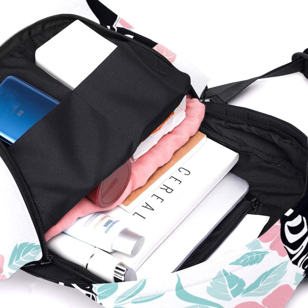 Super Large Capacity Cute Waterproof Laptop Backpack Womens Bag Sketch Seamless Pattern with Wild Animal ZebraDIY Personalized Custom Pattern Durable Backpack