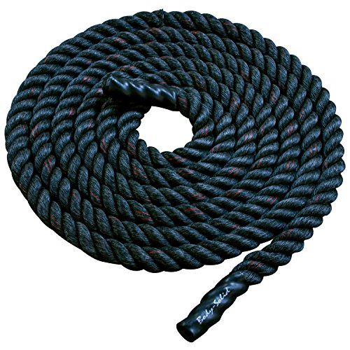 Body Solid Fitness Training Rope ColorSize - Black - 30 ft. by Body-Solid Tools
