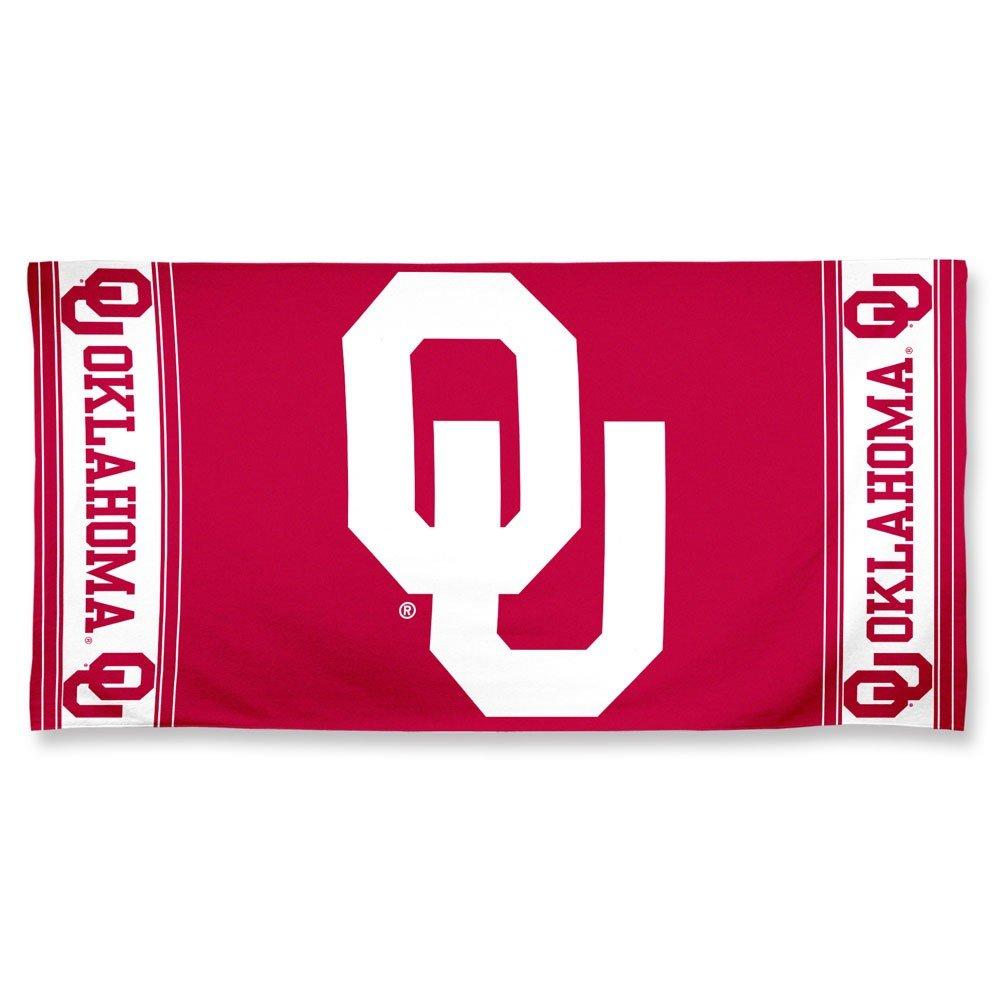 NCAA Oklahoma Sooners Fiber Reactiveビーチタオル B00IZRCEZE