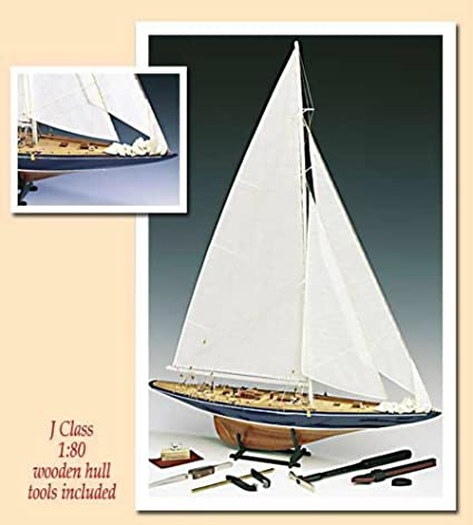 Endeavour J Class with Tools - Model Ship Kit by Amati