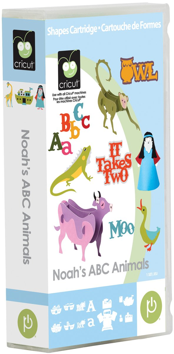 Cricut Noah'S ABC Animals Cartridge 2001190