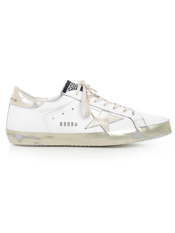(ゴールデン グース) Golden Goose Superstar スーパースターロートップスニーカー ゴールド メンズ シューズ靴 スニーカー GCOMS590 E37 [並行輸入品] B079ZRZDQF