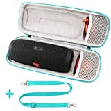 #9: COMECASE Hard Carrying Case for JBL Charge 3 Waterproof Portable Wireless Bluetooth Speaker - Fits USB Plug and Cable