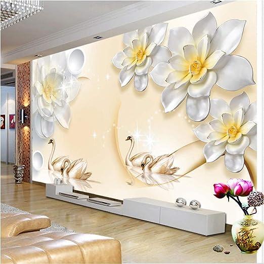Personalizado cualquier tamaño 3D Wallpaper Moderno 3D Relieve ...