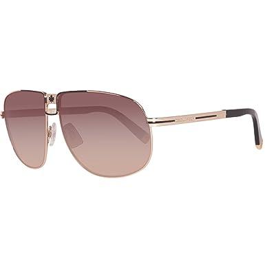 Amazon.com: Dsquared dq0077 28 F Aviator anteojos de sol ...