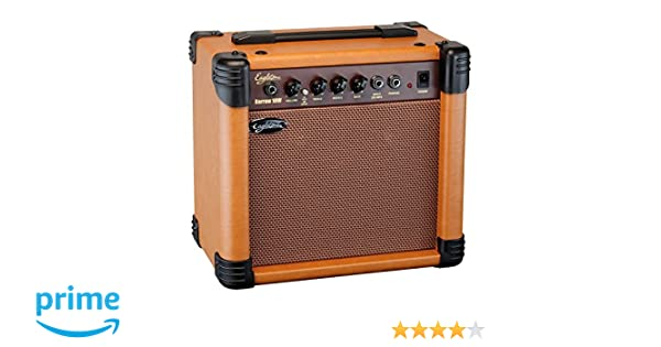 Eagletone Barrow-Amplificador para guitarra acústica 10 w, color marrón: Amazon.es: Instrumentos musicales