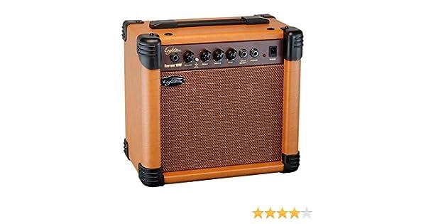 Eagletone Barrow-Amplificador para guitarra acústica 10 w, color marrón: Amazon.es: Instrumentos musicales