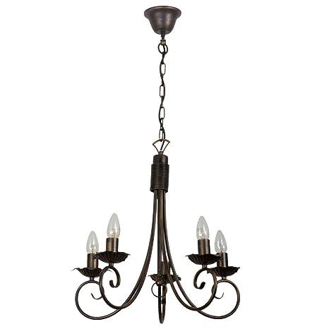 MW-Light 249011205 Lámpara de Araña Colgante, Lámpara de ...