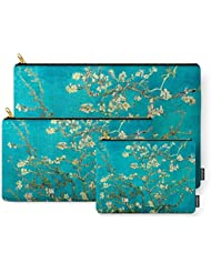 Society6 Vincent Van Gogh Blossoming Almond Tree Carry-All Pouch