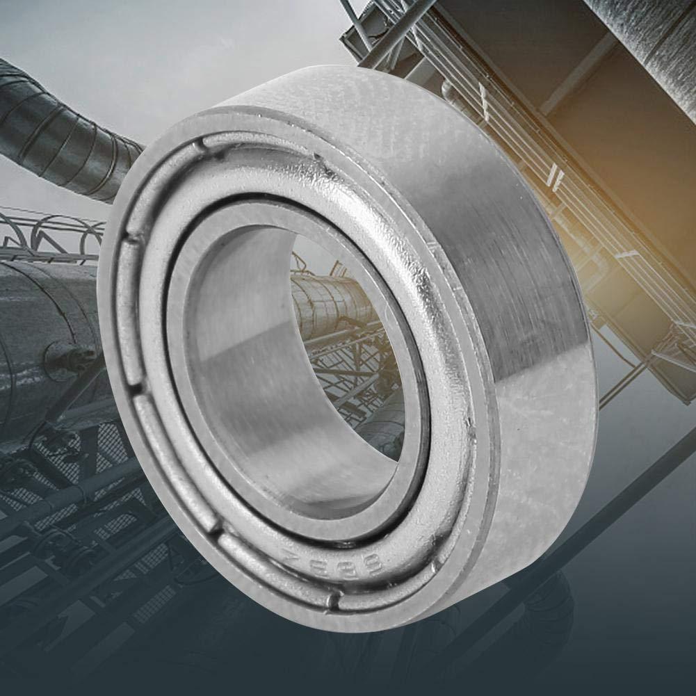 10 piezas 686-ZZ 687-ZZ 688-ZZ 689-ZZ Rodamiento de metal fabricado en material de acero 686-ZZ 6x13x5mm Rodamiento r/ígido de bolas