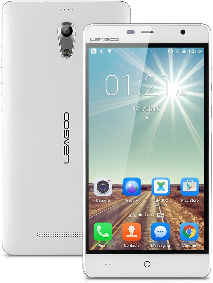 LEAGOO Elite 4 - Smartphone Libre Android 4G LTE (Pantalla IPS Ogs 5.0