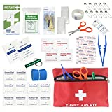 First Aid Kit Medical Bag (47pcs / set) for Cars, Homes, Travel, Sports and Outdoors