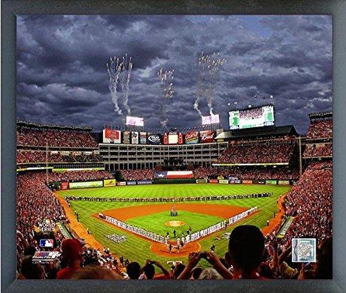 Rangers Ballpark in Arlington Game 3 2011 World Series Texas Rangers MLB Photo (Size: 17