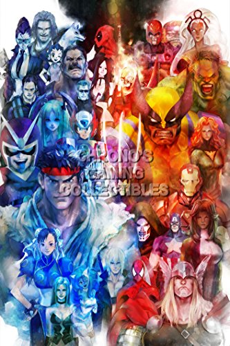 PremiumPrintsG - Ultimate Marvel Vs Capcom 3 PS3 PS4 Xbox 360 ONE Infinite - XEXT859 Premium Decal 11