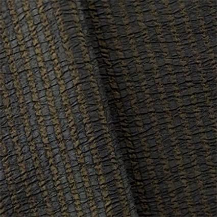 Amazon Com Brown Black Seersucker Stripe Home Decorating Fabric