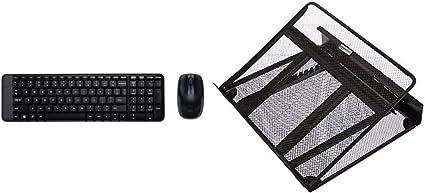 Logitech MK220 - Pack de Teclado y ratón inalámbrico con USB ...