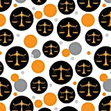Scales Of Justice Legal Lawyer Premium Gift Wrap Wrapping Paper Roll
