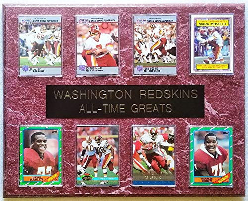 (Frames, Plaques and More Washington Redskins All-Time Greats 8-Card 12