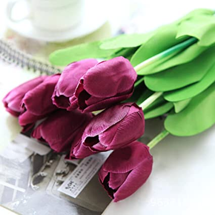 amazon com 10pcs classic artificial flowers silk flowers fake