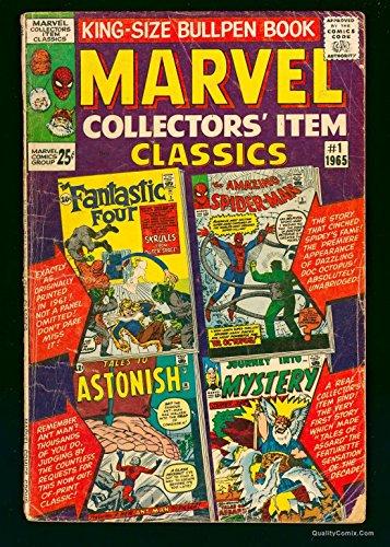 Marvel Collectors Item Classics #1 GD- 1.8