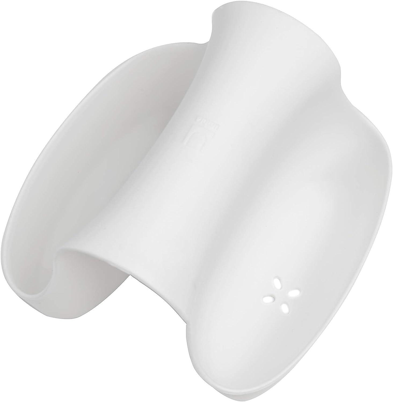 TPR 11.3 x 15.9 x 10.49 cm Blanc Umbra Saddle Sink Caddy