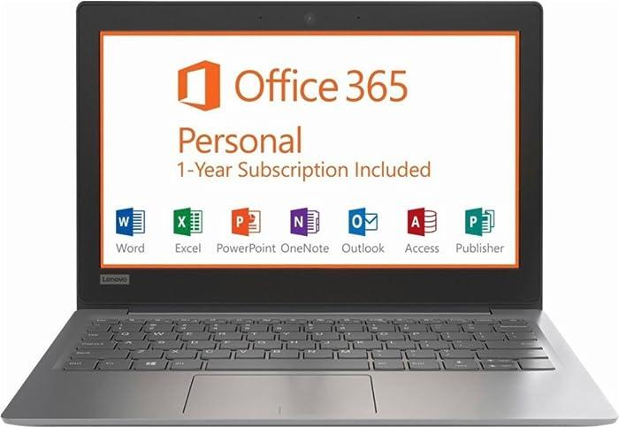 "New Lenovo 81A40025US IdeaPad 11.6"" N3350 Laptop - 2GB Memory - 32GB eMMC Flash Memory - Gray"