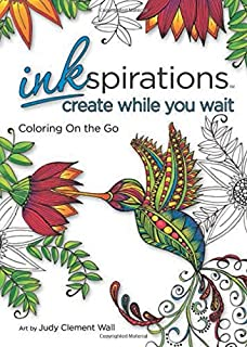 Inkspirations Create While You Wait Coloring On The Go