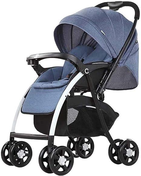 Opinión sobre OESFL Cochecito de bebé portable del carro del cochecito de bebé del cochecito de niño de la cuna del carro del cochecito, Todo Terreno Vista ciudad Selecciona Cochecito Cochecito compactos convertibl