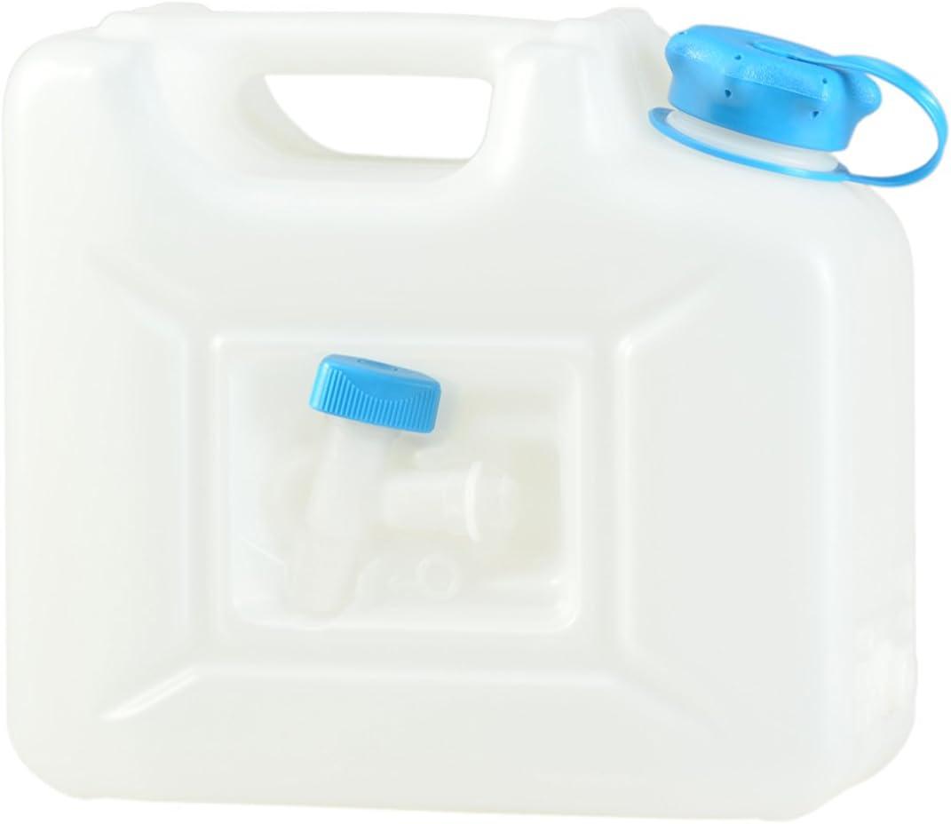 Bleu 6L/avec robinet H/ünersdorff GmbH 816100 Nourrices /à Eau ECO avec Tube PE-HD Naturel Accessoire