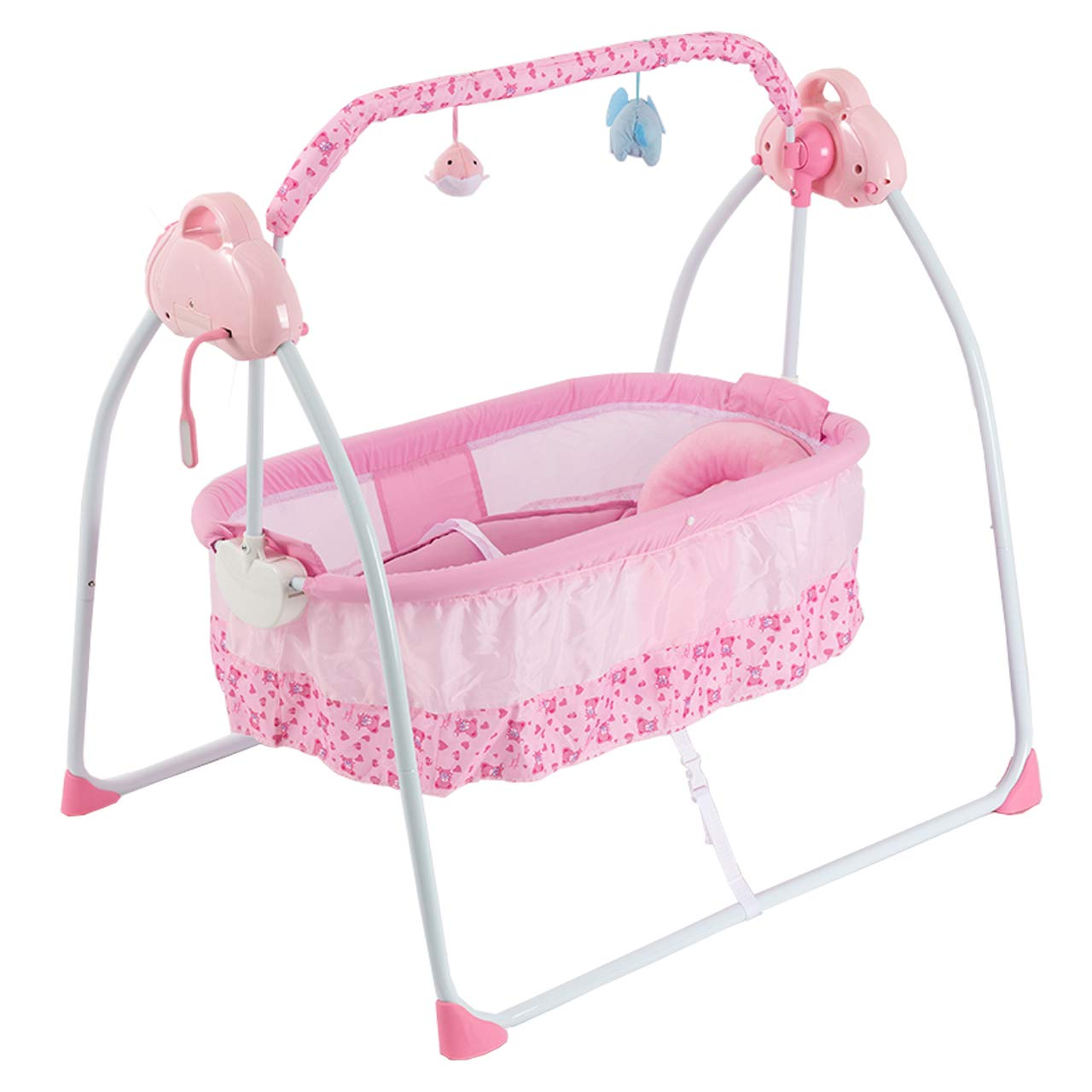 Baby Bassinet-Portable Crib-Bedside Bassinet