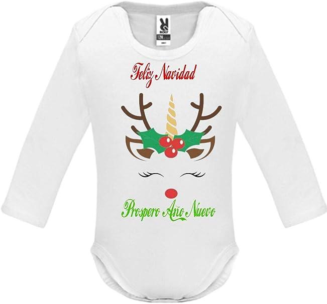 SAQUITOMAGICO Body Bebe Algodon Christmas Navidad: Amazon.es: Ropa ...