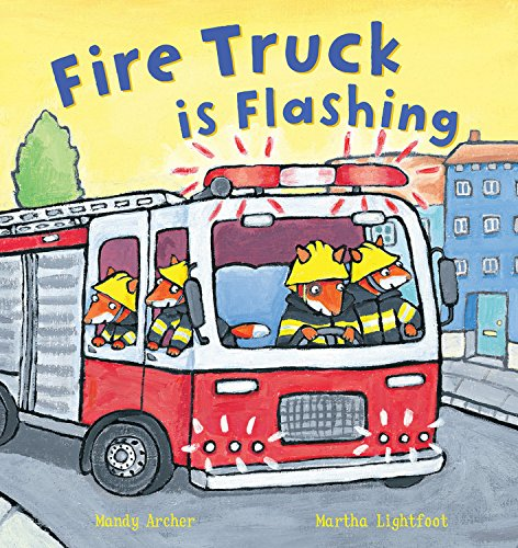 Fire Truck is Flashing (Busy Wheels)