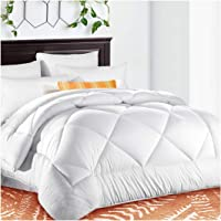 TEKAMON Comforter Duvet Insert with Corner Tabs for Duvet Cover 2100 Series, Snow Goose Down Alternative, Hotel Collection Comforter Reversible, Hypoallergenic Choice