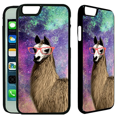 [TeleSkins] - Springink Hipster Cute Llama Geek Glass - iPhone 6 Plus...