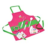 Amazon Price History for:Curious Chef TCC50186 11-Piece Kids' Chef Kit, Pink/Green