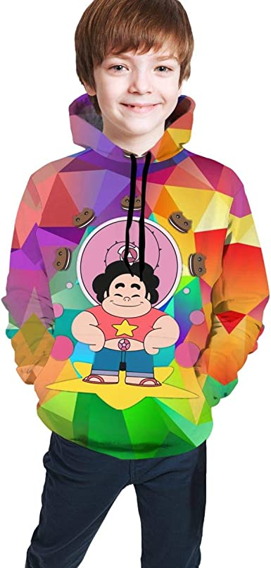 Fashion Sweatshirts Pullover Hoodies with Pockets for Boys//Girls//Teen//Kids
