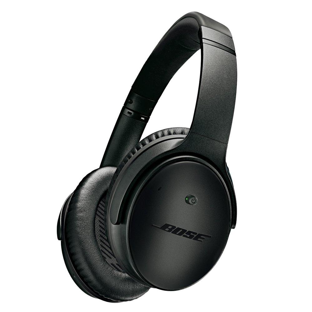 Bose ノイズキャンセリングヘッドホン QuietComfort 25 密閉型/オーバーイヤー/Apple製品対応リモコン・マイク付き スペシャルエディション トリプルブラック QuietComfort25 IP TBK【国内正規品】