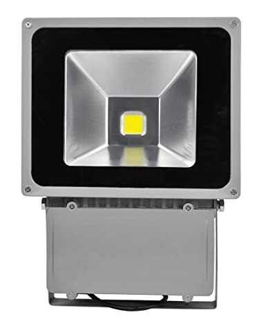 100W LED Foco Proyector,ALPHA DIMA IP65 Impermeable Luz de ...