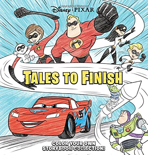 Disney*Pixar Storybook Collection: Tales to Finish: Color Your Own Storybook Collection!