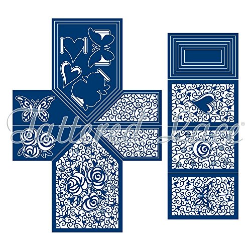 Tattered Lace Pop & Twist Card Die Set - 21-Piece set - TLD0053 by Tattered Lace